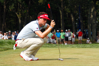 Keegan Bradley has a unique and successful style on the greens.