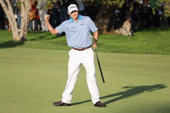 Bill Haas hit the jackpot at the end of 2011 with a long putter.
