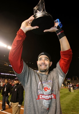 Mike Lowell is a cancer survivor who won the 2007 World Series MVP with the Red Sox.