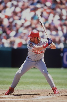 John Kruk played only 120 games after being diagnosed with testicular cancer in 1994.