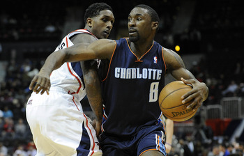 Gordon was traded from the Pistons to the Bobcats in June.