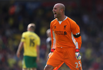 Pepe Reina hasn't been great, but he's the best keeper Liverpool have.