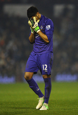 Paulo Gazzaniga has been prone to the occasional gaffe in goal for Southampton.