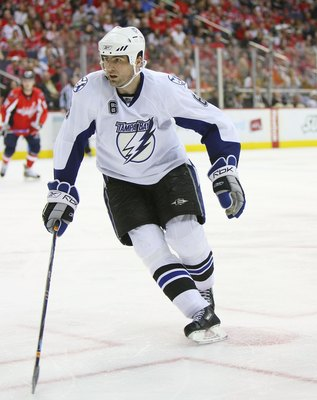 Josef Melichar playing with the Tampa Bay Lightning in 2009.