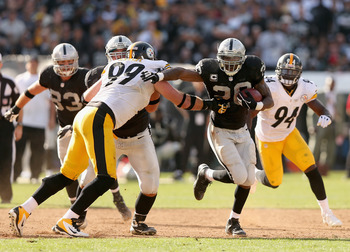 McFadden and his offensive/special-teams mates must possess the ball.