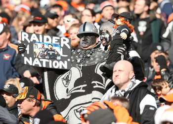 It's been a long month for the Raider Nation.