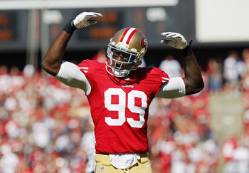Aldon Smith is on pace to break the single-season sack record.