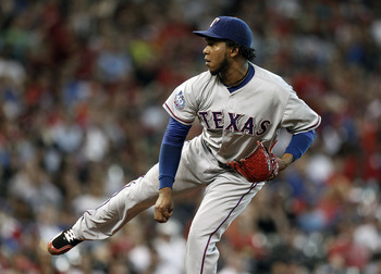 Neftali Feliz won't rejoin the Texas Rangers rotation until midseason.