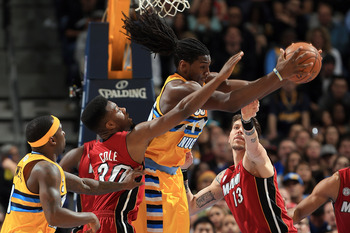 Kenneth Faried is utterly ferocious