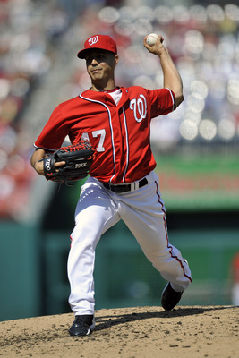 Gio Gonzalez had the best ERA on the Nats' pitching staff, which had the best ERA in the NL (MLB.com)