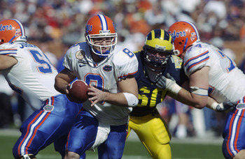 Florida Quarterback Rex Grossman in 2003 Outback Bowl