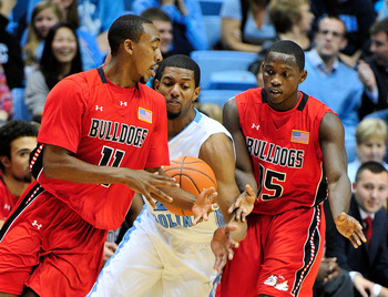 The Running Bulldogs have played many big name opponents in the early-going, including UNC.