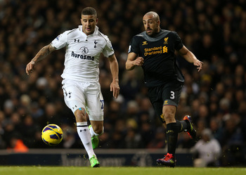 Tottenham's Kyle Walker has played better in recent games.