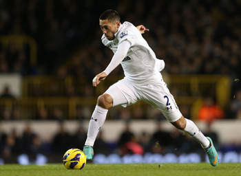 Clint Dempsey left Fulham in acrimonious circumstances in August.
