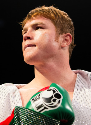 "Saul ""Canelo"" Alvarez, Mexico's biggest son in boxing."