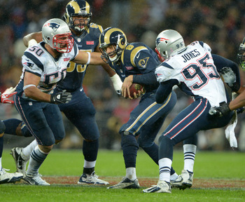 Rob Ninkovich and Chandler Jones, as well as Nate Solder and Brandon Spikes, are having nice seasons for the Patriots.