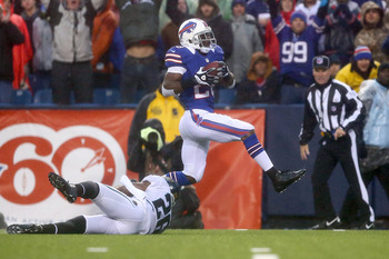 C. J. Spiller scores on a 44-yard run to open up fourth quarter.
