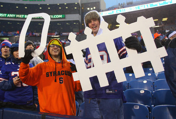 Bills fans were pumped up about defensive unit effort today.