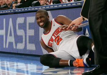 We'll see how Felton reacts to his latest injury.