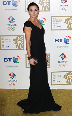 LONDON, UNITED KINGDOM - NOVEMBER 30: Victoria Pendleton attends the British Olympic Ball on November 30, 2012 in London, England. (Photo by Fred Duval/Getty Images)