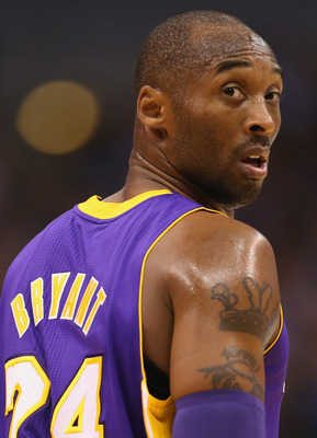 The Black Mamba can not believe that he is not ranked higher on this list.