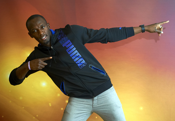 Usain Bolt's swagger is topped only by his talent on the track.