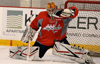Sergei Kostenko at Capitals Development Camp in  July 2012 (foter.com)