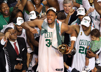 Paul Pierce was the heart of the 2008 Championship Celtics.