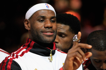 LeBron James finally got his ring, and he won't stop there.