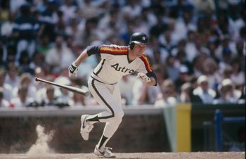 Denny Walling, being chased by a possessed baseball bat