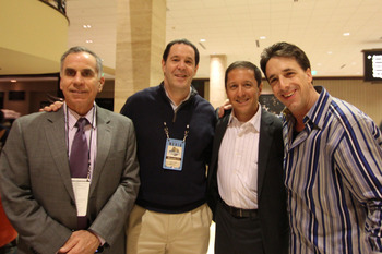 Robert Bluestein with ESPN Baseball Tonight Crew at The Winter Meetings