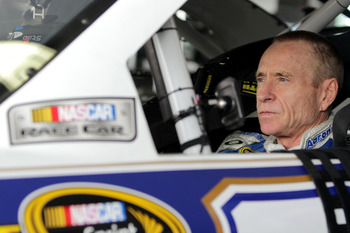 He may have a few wrinkles on the face, but Mark Martin has the body of a 25-year-old in his prime.