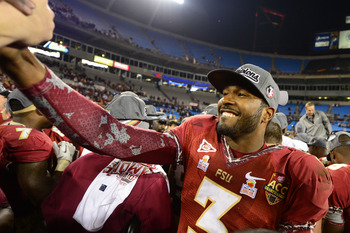 EJ Manuel led Florida State to an ACC Championship win.