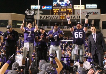 Kansas State won the Big-12 Championship Saturday night.