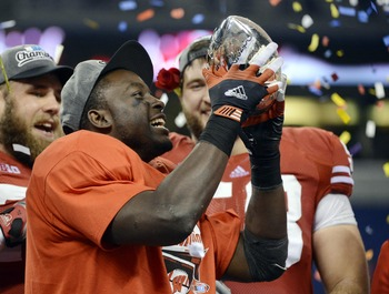 Montee Ball helped Wisconsin capture the Big 10 title.