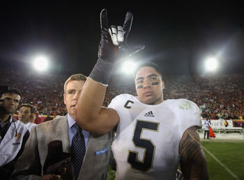 Manti Te'o is one of the best overall players in college football.