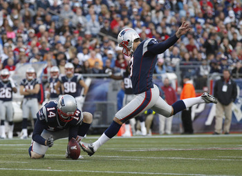 Stephen Gostkowski's inconsistency has been a concern all season.