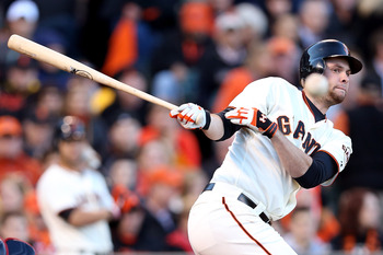 Brandon Belt hit only seven home runs in 2012.