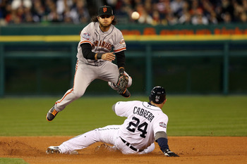 Brandon Crawford is an outstanding defensive player.