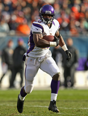 Adrian Peterson went off for 210 yards on 21 carries with a touchdown against Green Bay.