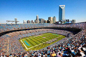 Bank of America Stadium Courtesy davefromcarterfinley.com
