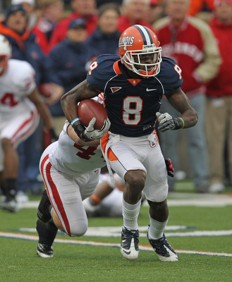 The last time A.J. Jenkins played in a meaningful game was at Illinois.