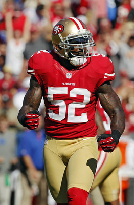 Patrick Willis is the leader of the 49ers defense.