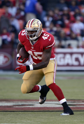Brandon Jacobs has not produced for the 49ers.