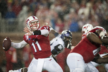 SMU will heavily rely on Garrett Gilbert
