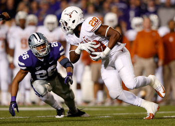 Brown was easily Texas' best running back against the Wildcats.