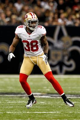 Dashon Goldson must wrap up on his tackle attempts.