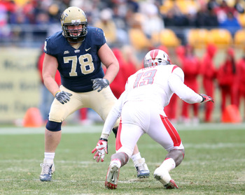 Pitt left tackle Cory King.