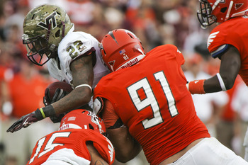 Jones, 91, has 12.5 sacks on the season, tied for fourth in the FBS.