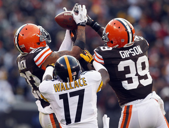 The Steelers had eight turnovers against the Browns.